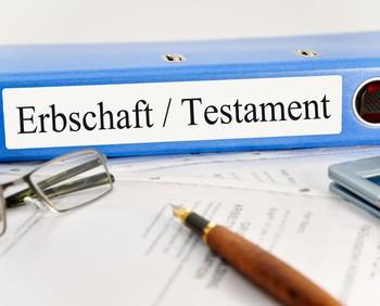 Erbschaft und Testament