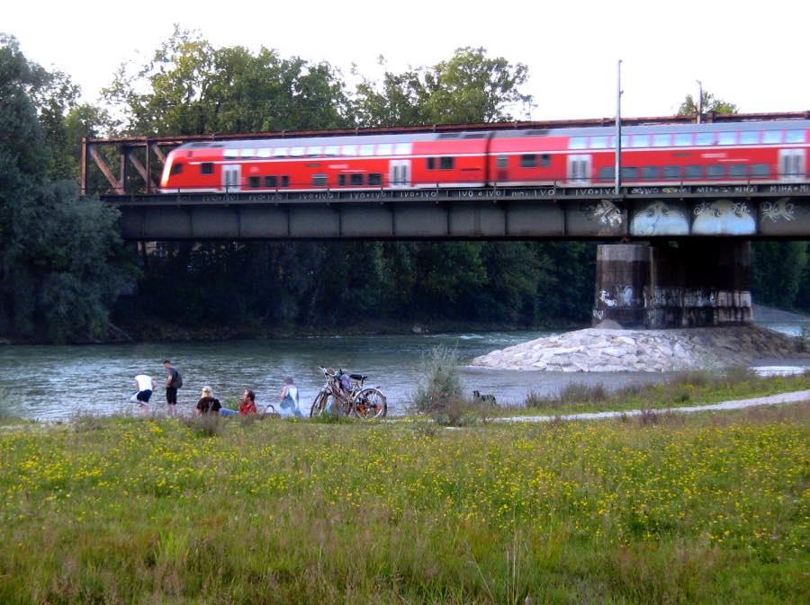 Anreise nach München mit dem Zug