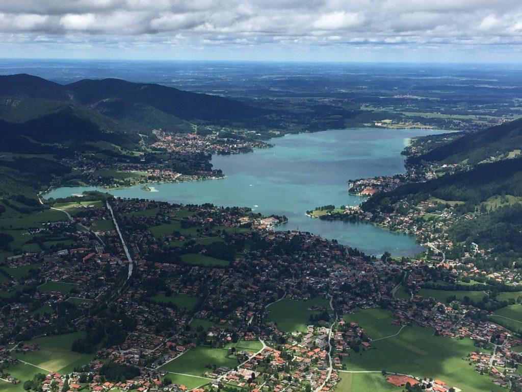 Tegernsee-Panorama vom Wallberg