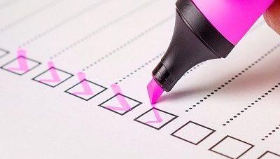 Checkliste zum Statusfeststellungsverfahren